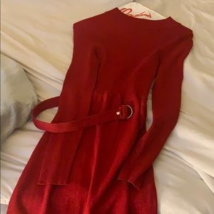 Free People Dresses - Free People Red Dress Size Small, worn once.